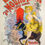 Bal Du Moulin Rouge Lithograph after Jules Cheret
