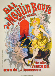 Bal au Moulin Rouge Original Lithograph
