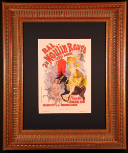 Bal au Moulin Rouge Lithograph Framed and Matted