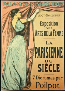 La Parisienne du Siecle (1899) - Color Lithograph