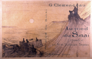Cover for Au Pied du Sinai by Toulouse-Lautrec