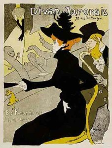 Divan Japonais Lithograph after Toulouse-Lautrec