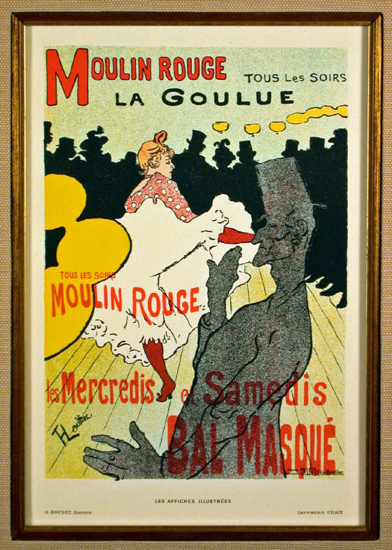 moulin rouge la goulue 1896 lithograph after toulouse lautrec j d smith fine art. Black Bedroom Furniture Sets. Home Design Ideas
