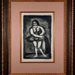 Original Expressionist Lithograph by George Rouault