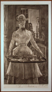 Le Matin Mezzotint by James Tissot