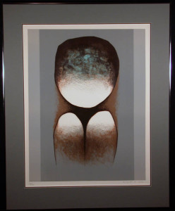 (Untitled - Loneliness Theme) Signed Lithograph by Witold-K
