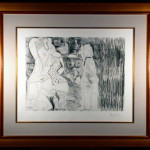 Series 156 Plate 107 Original Etching by Picasso