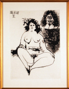 Series 347 Plate 175 Original Etching by Pablo Picasso